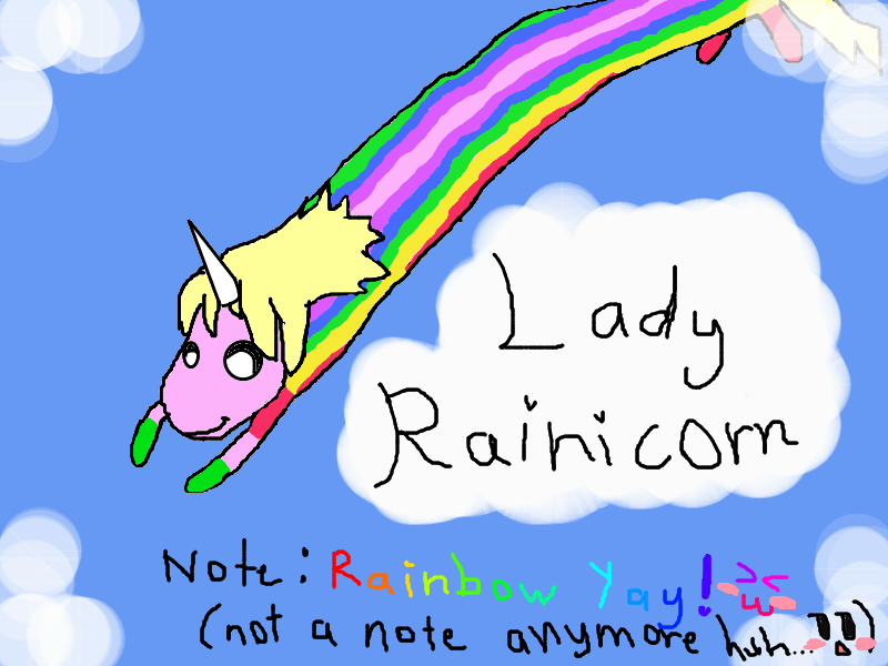 Adventure time Lady Rainicorn Practice drawing 1 by ...