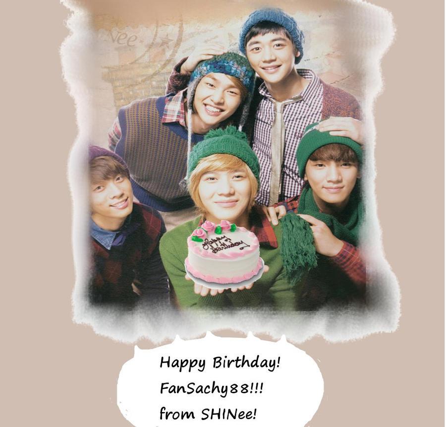 happy birthday fansachy88 by Rio-Osake