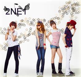 2NE1 wallpaper by Rio-Osake