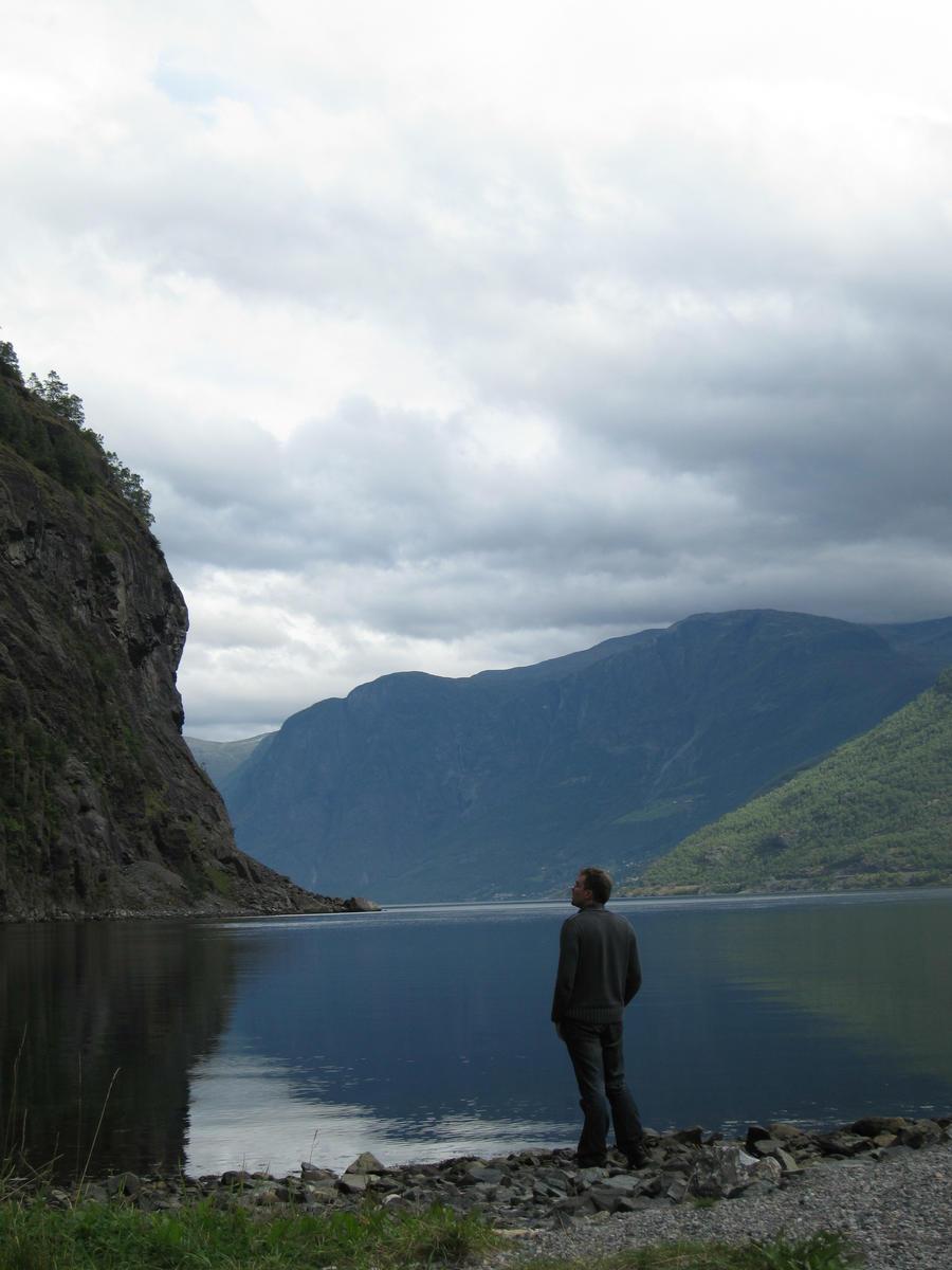 me in Aurlandsfjorden
