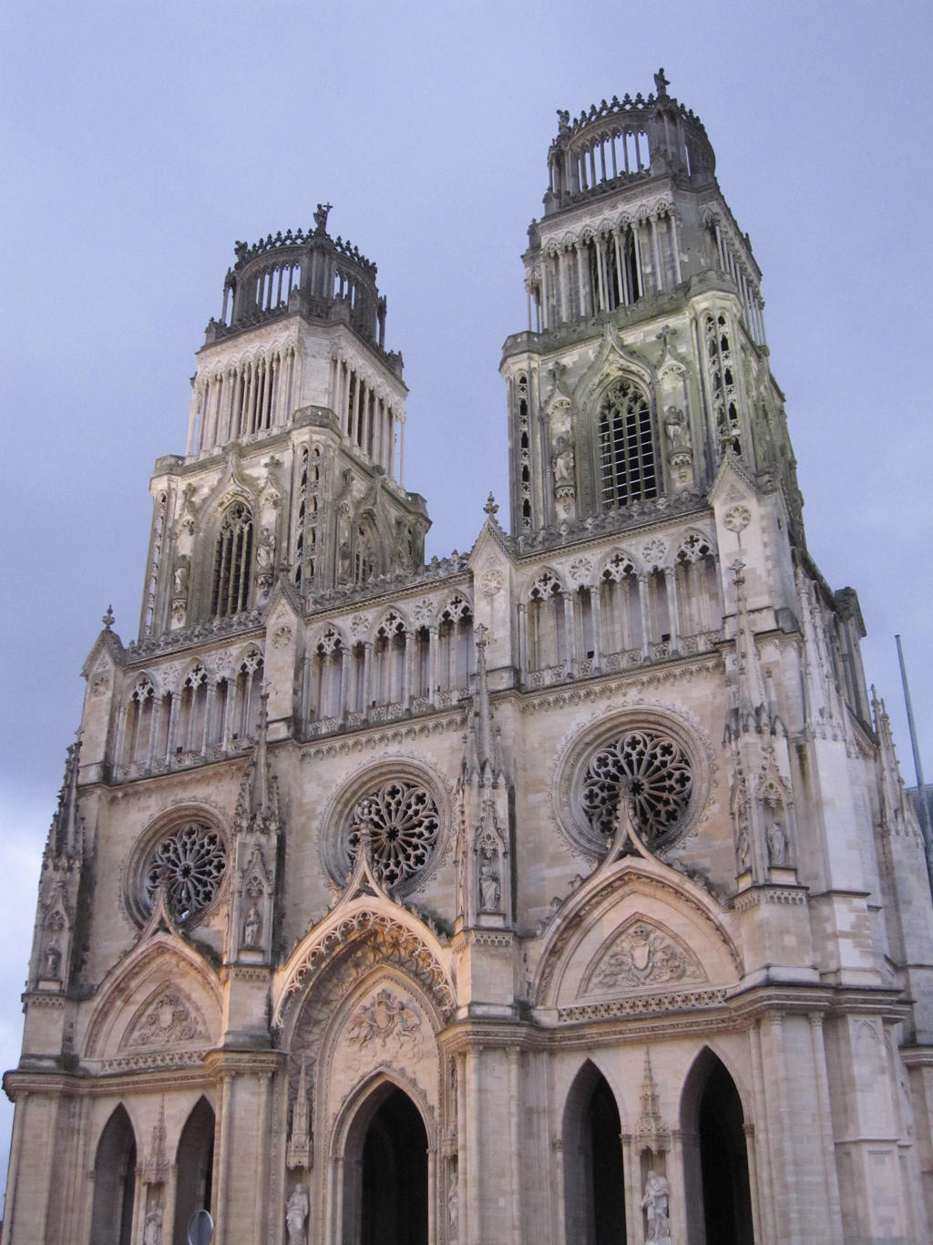 Cathedrale illuminee