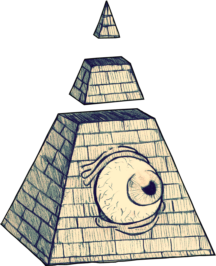 Illuminati Pyramid Sketch | www.pixshark.com - Images ...