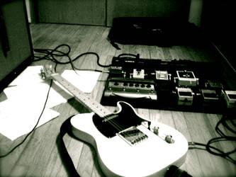 Fender Telecaster by jimsteryun