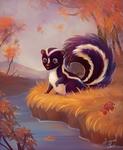 Cute Skunk - comm.