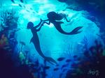 Underwater adventure.