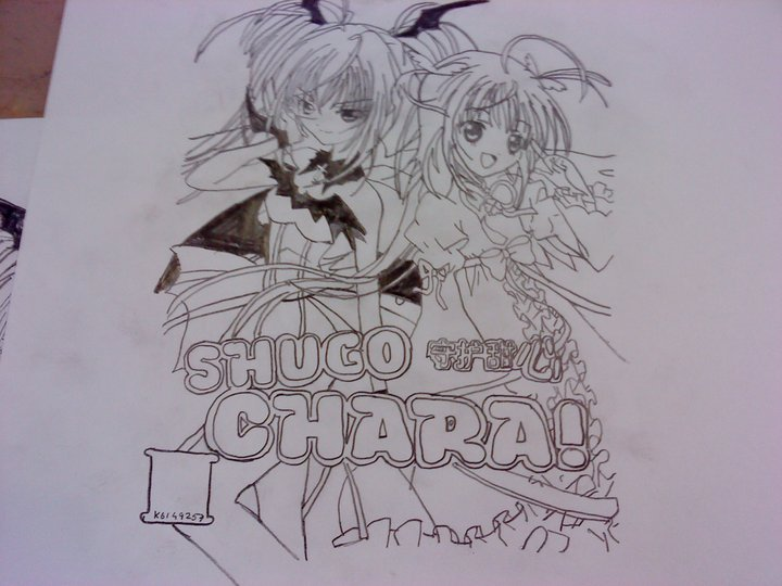 Shugo Chara Utau and Amu by vampireprincess1710