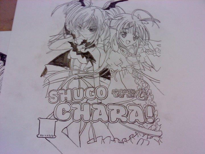 Shugo Chara Utau and Amu by vampireprincess1710