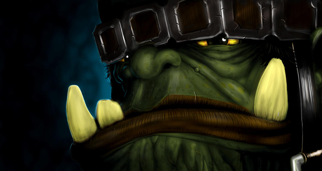 Big Moody Orc of War wonders - Why bother at all? by TheClawTheySay