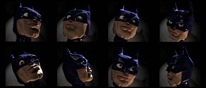 Batdork Selfies