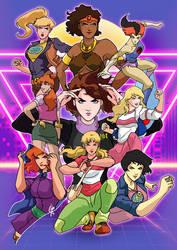Teen Cartoon Gals 80