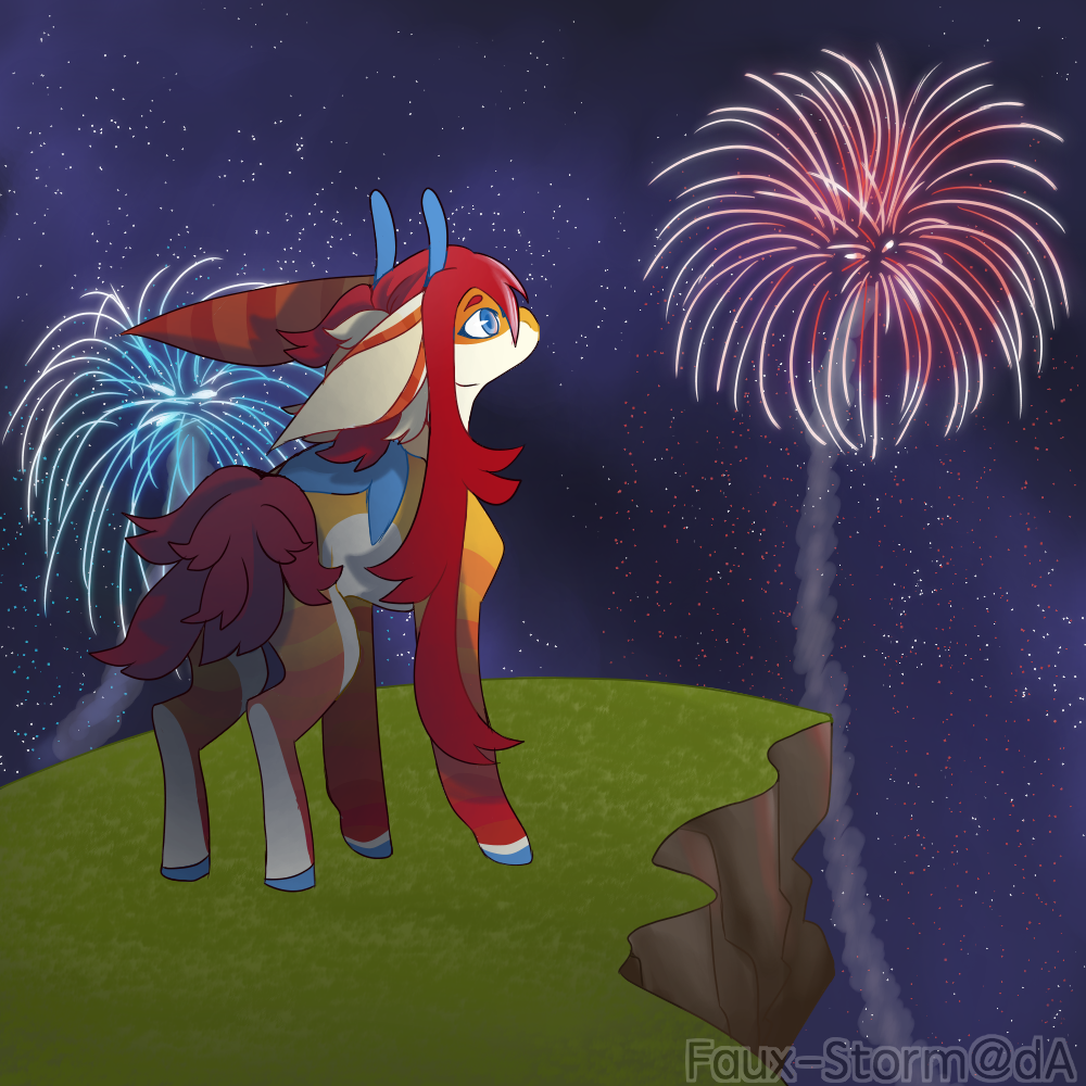 New Year's Fireworks: Pyre by Faux-Storm