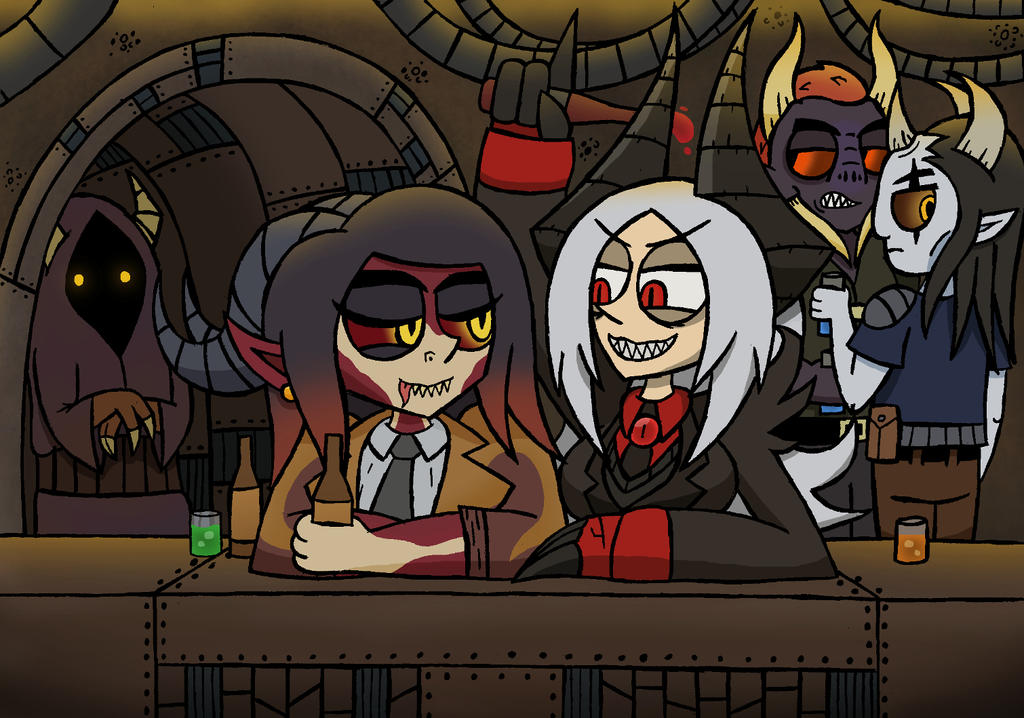 Girls Night Out by NyxenAvenger