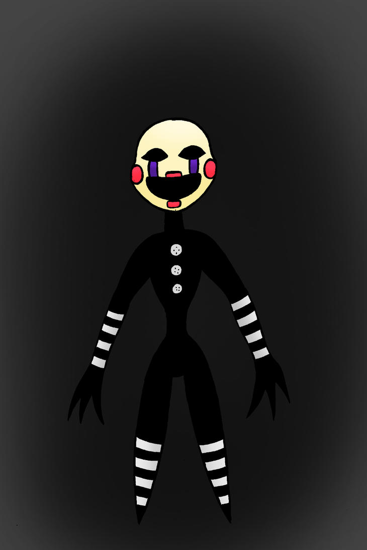 Puppet- FNAF 2 by NyxenAvenger