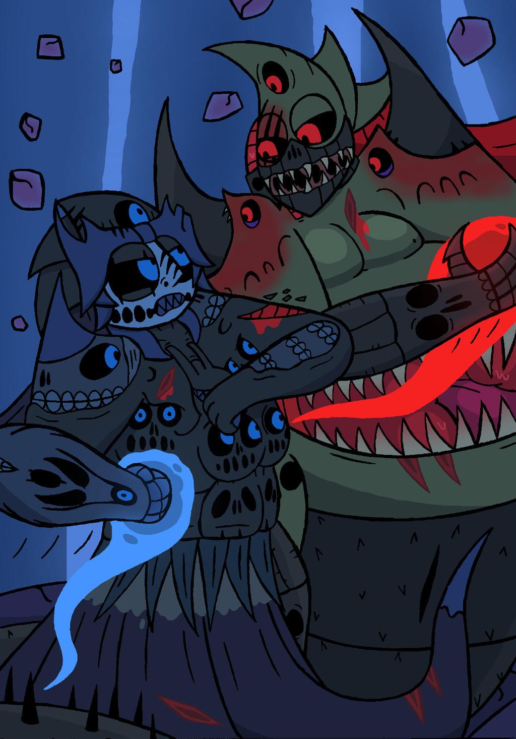 Battle Of The Predators I by NyxenAvenger