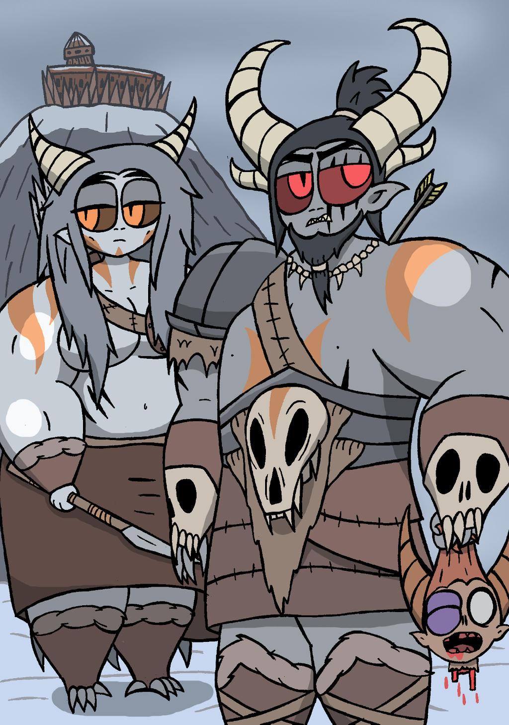 Wendigan Demons by NyxenAvenger