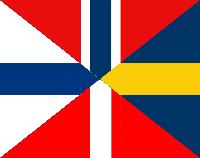 scandinavian flag coloring pages - photo#36