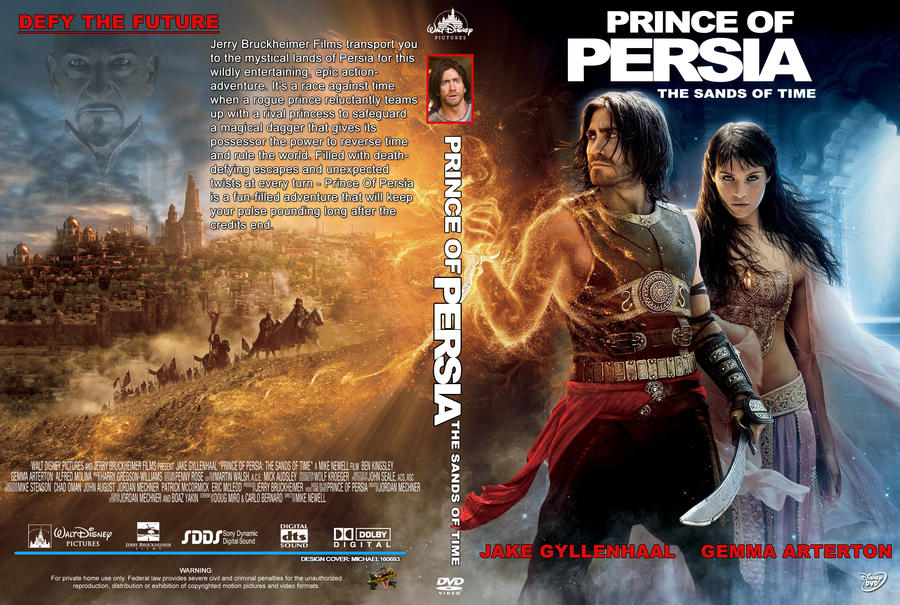 Prince Of Persia Cover Dvd By Michael160693 On Deviantart