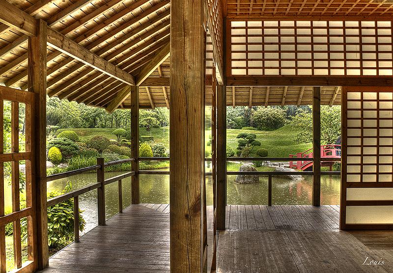 Photo hdr prise au jardin japonais de toulouse by louis for Jardin japonais toulouse