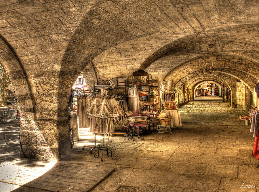 Uzes - France by Louis-photos