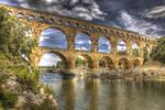 Pont du Gard - HDR by Louis-photos
