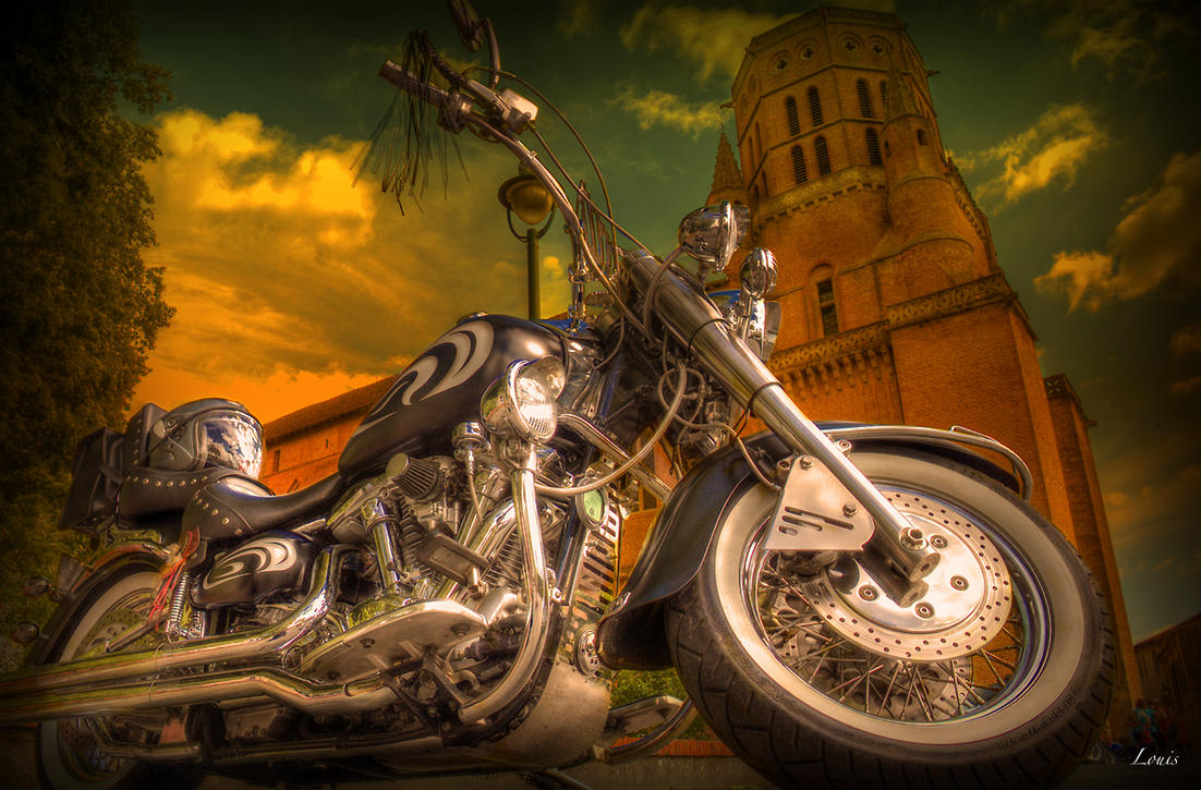 HDR motorbike by Louis-photos
