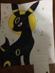 Colored Umbreon