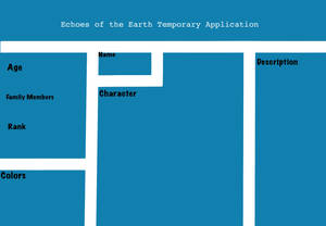 Echoes of the Earth Temporary Application
