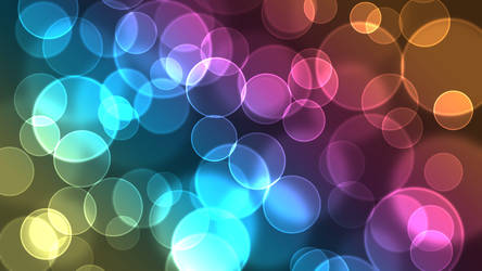 Digital Bokeh - Rainbow by mi986