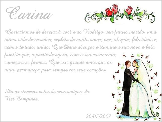 Cartões De Casamento