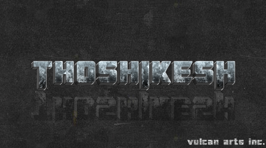 Transformers text effect. by thoshi11