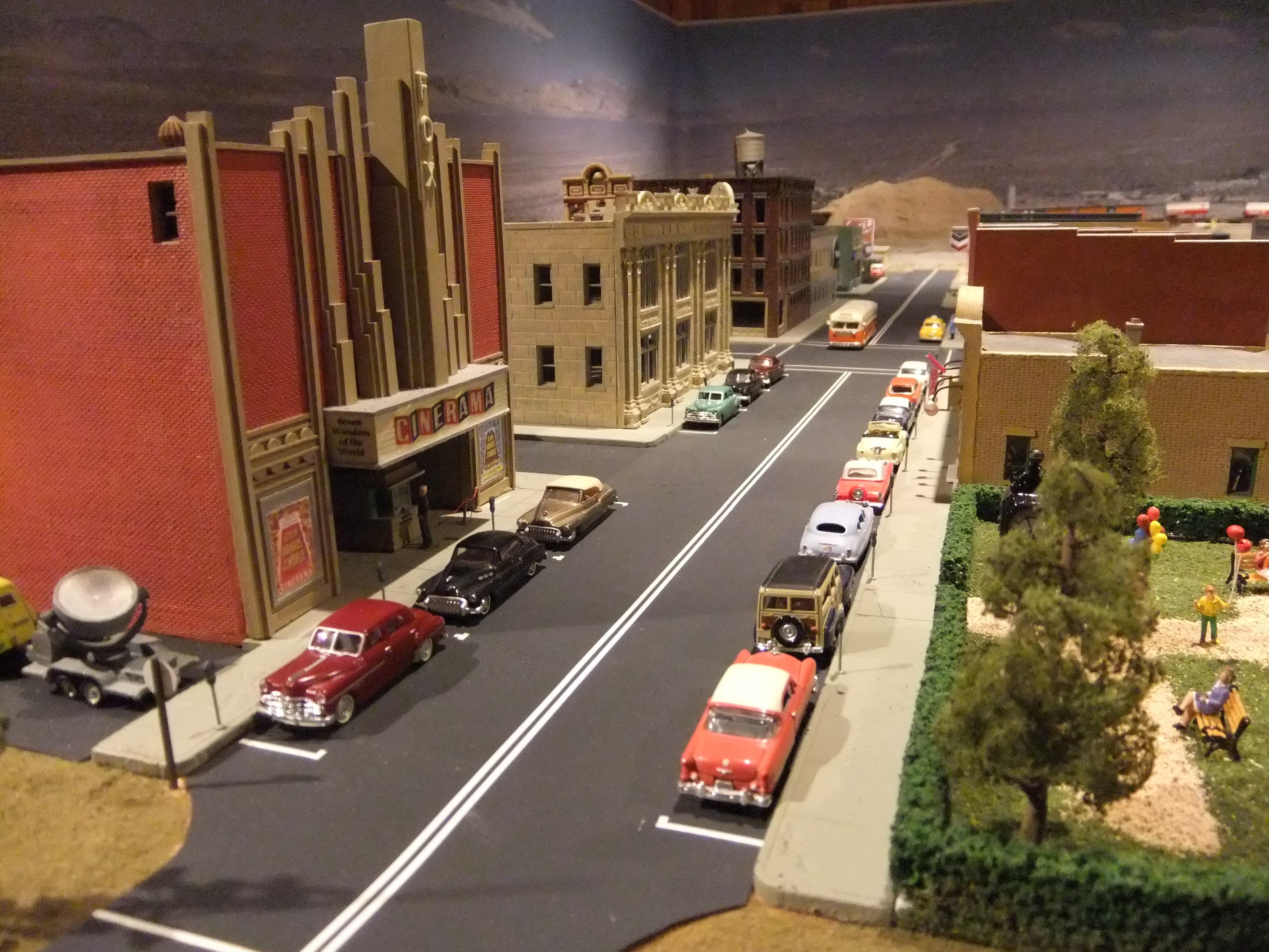 Ho Scale Streets Roads Model Railroader Magazine Model