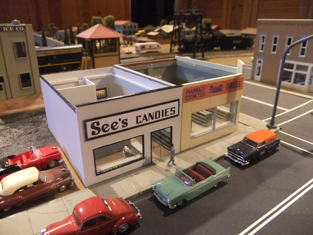 See's Candies and Rexall Drugs by SouthwestChief