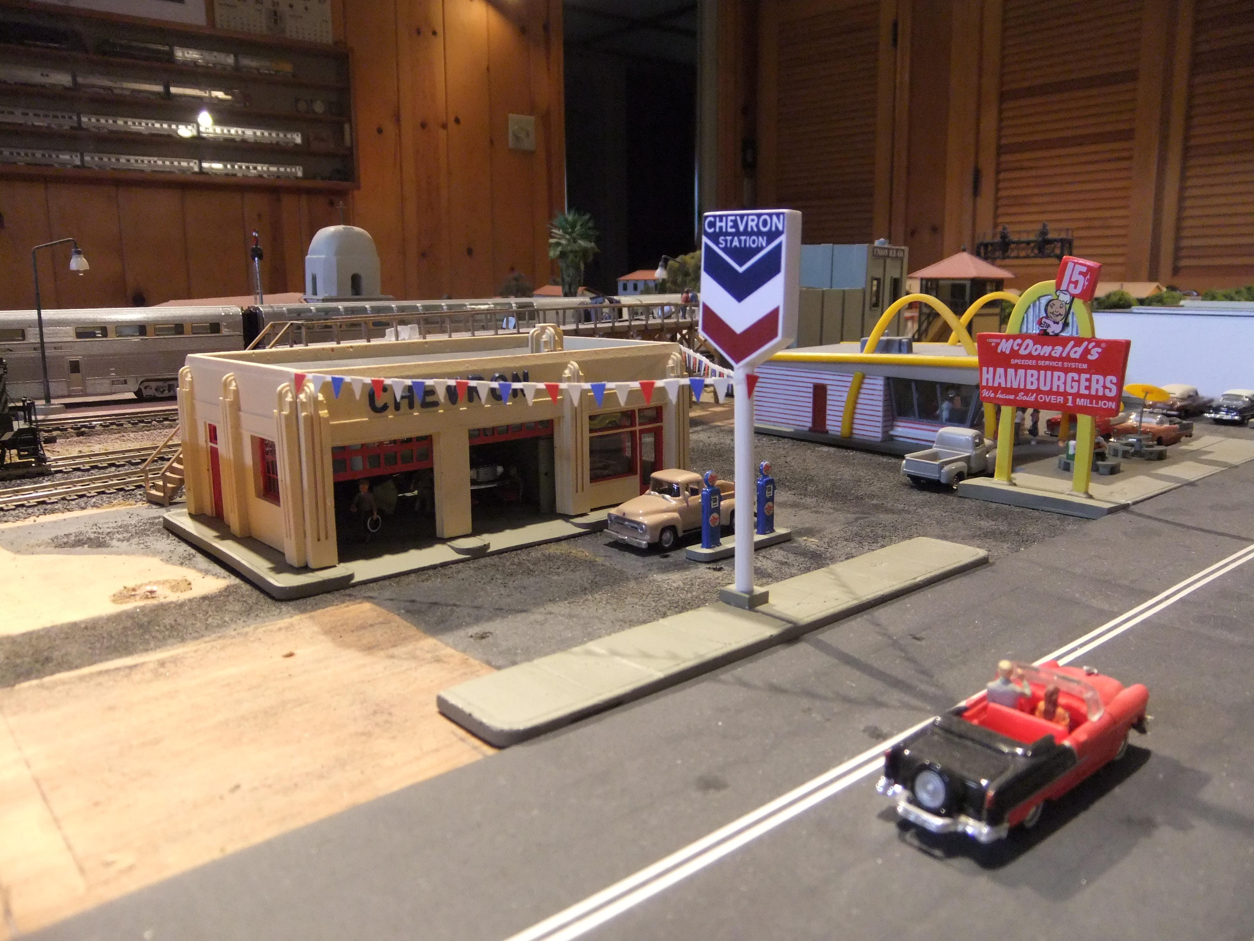 Chevron Station 1 by SouthwestChief