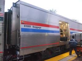 New Amtrak Viewliner Baggage Car #61069