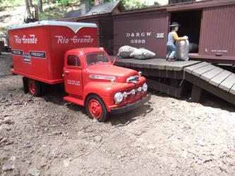Rio Grande Motorway Truck 3 by SouthwestChief