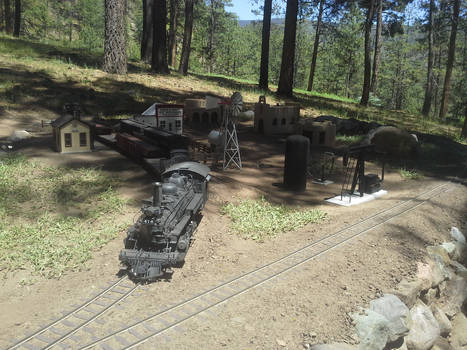 Pipe Train at Dulce