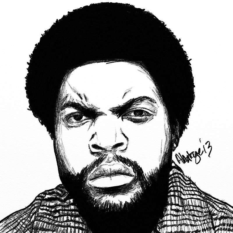 Ice Cube by abatagestudios on DeviantArt