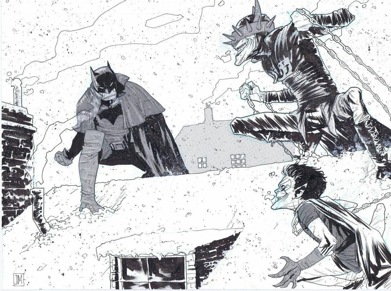 Gotham By Gaslight Batman Vs Batman Who Laughs By Theprojectzombie On Deviantart