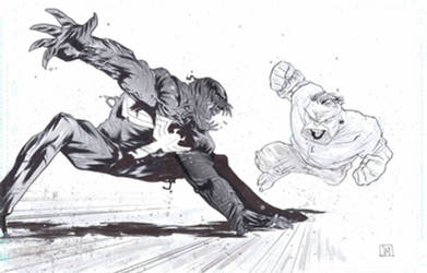 Venom VS Hulk by Theprojectzombie