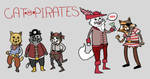 cat pirates in glorious color