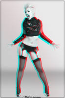 Sophie Punk Anaglyph by MaLize