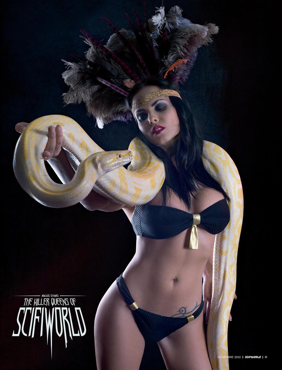 Eiza gonzalez snake dance from dusk till dawn