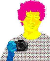 CMYK Self Portrait 2012