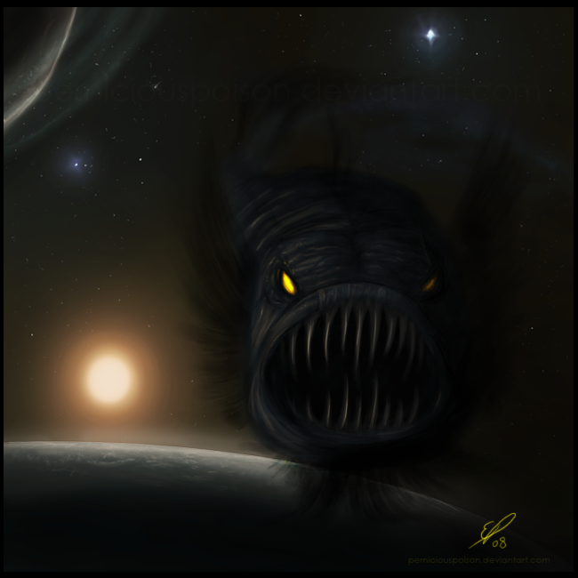 Space Angler by elz-art