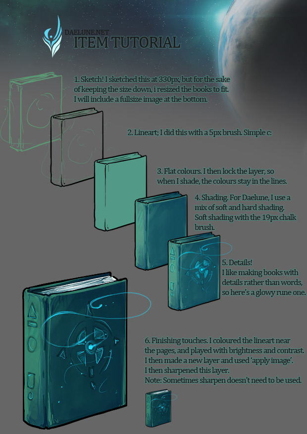 Item Tutorial for Daelune.net by elz-art