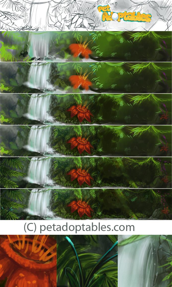 Pet Adoptables - Steps by elz-art