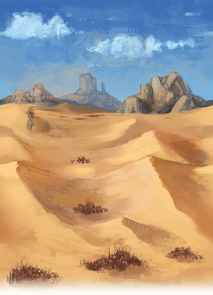 Seripets - Tiling Desert by elz-art