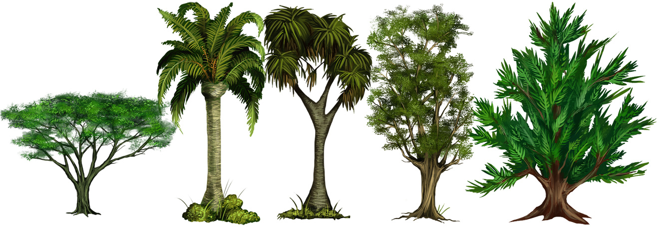 Tree Set by elz-art