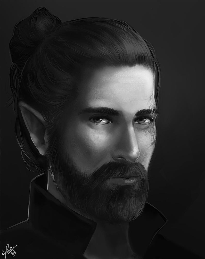 Aewin (Redo) by elz-art