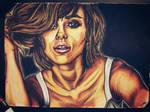 Scarlett Johansson portrait + Speed drawing